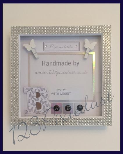 frame box frame baby personalised